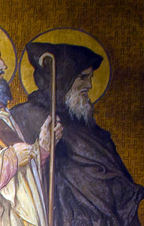 Aaron of Aleth Abbot, hermit, monk