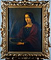 Saint Lucy. Oil painting by a Spanish painter (Seville), 18t Wellcome L0018050.jpg
