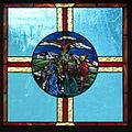 Saint Mary Catholic Church (Gatlinburg, Tennessee) - stained glass, the Crucifixion.jpg