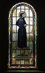 Saint Paul Catholic Church (Westerville, Ohio) - stained glass, arcade, Saint Elizabeth Ann Seton.jpg