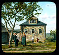 Saint Petersburg family in front of a house, near Leningrad.jpg