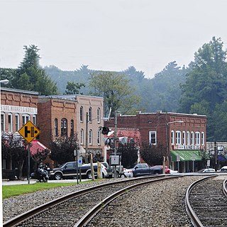 Saluda Main Street Historic District United States historic place
