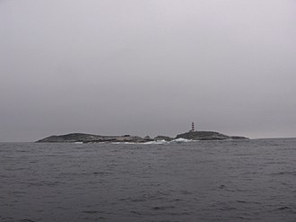 Halifax Harbour - Sambro Island from the northwest