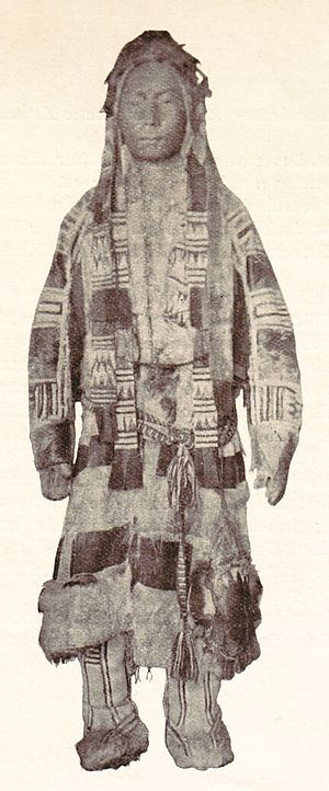 Samoyedic peoples - Image: Samojede in Winterdress