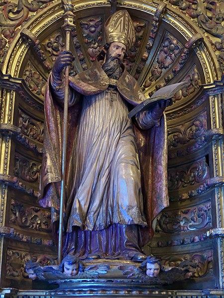 File:San Isidoro de Sevilla, José de Arce (Catedral de Sevilla).jpg