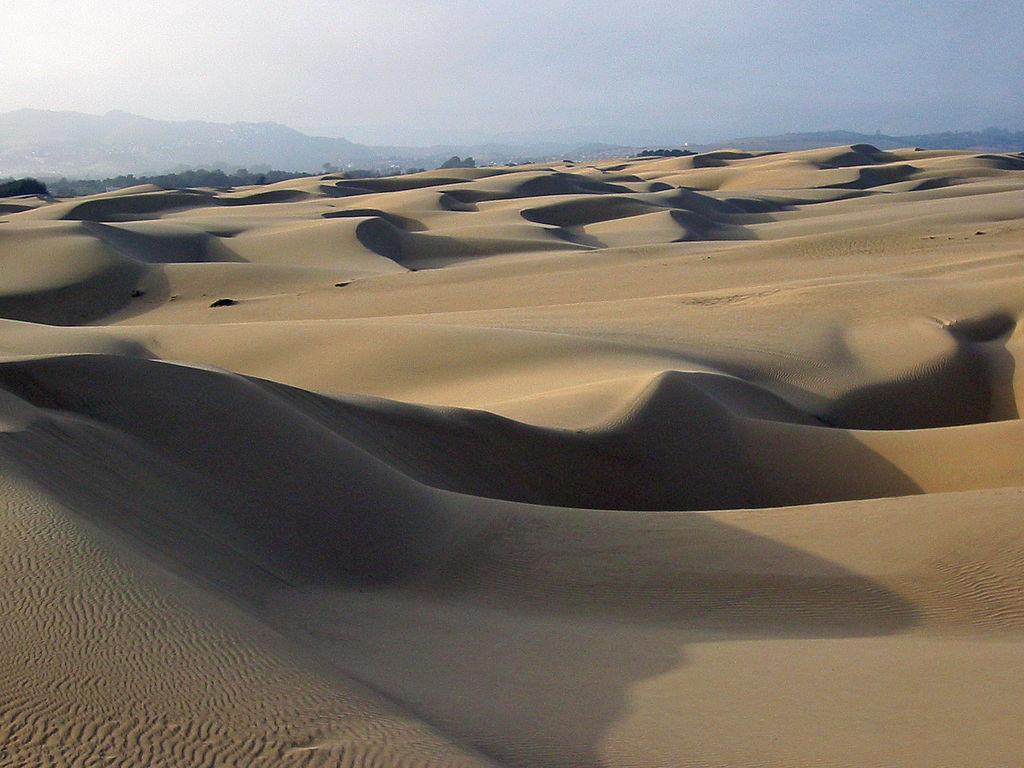 Sand dunes Oceano CA Dramatic Drives