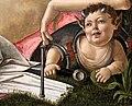 Sandro botticelli, marte e venere, 1485 ca. 08 satirello con armi.jpg
