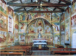 Bicinicco - Interior of the church of Sant'Andrea in Griis