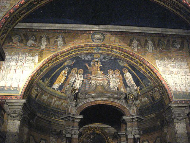https://upload.wikimedia.org/wikipedia/commons/thumb/6/63/Santa_Prassede_-_apse_and_apse_arch.jpg/640px-Santa_Prassede_-_apse_and_apse_arch.jpg