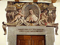 Santa lucia alla castellina, ex-monastero, portali con santi della scuola del meucci 04.JPG