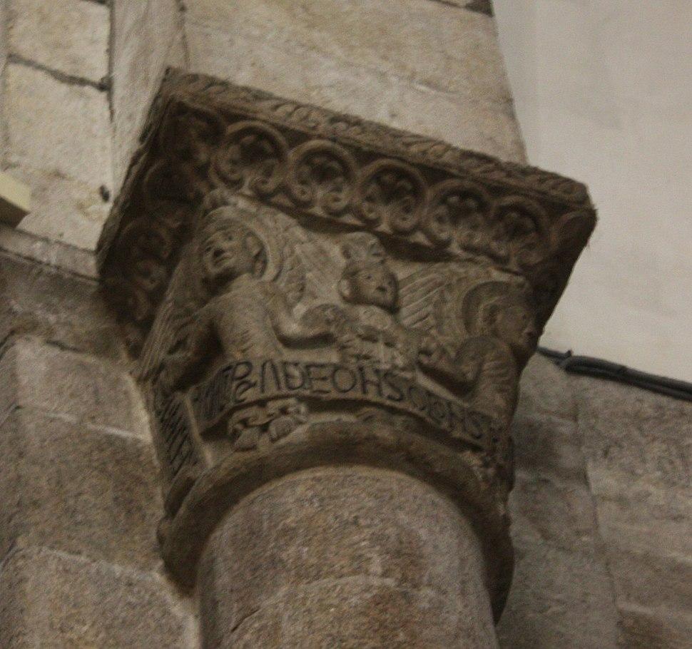 Capitel fundacional do rei Afonso VI.