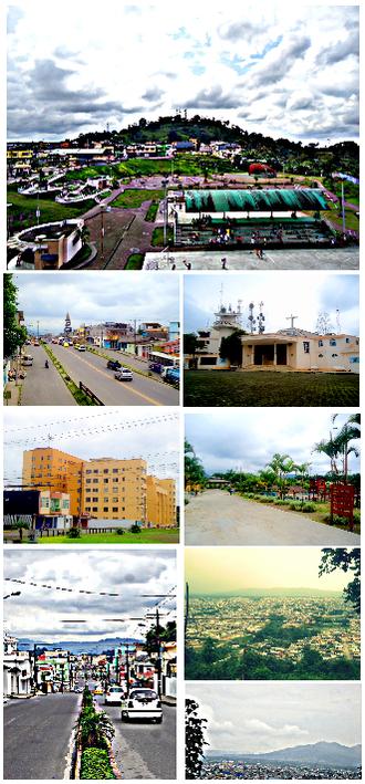 Santo Domingo, Ecuador - Image: Santo Domingo, Ecuador montage