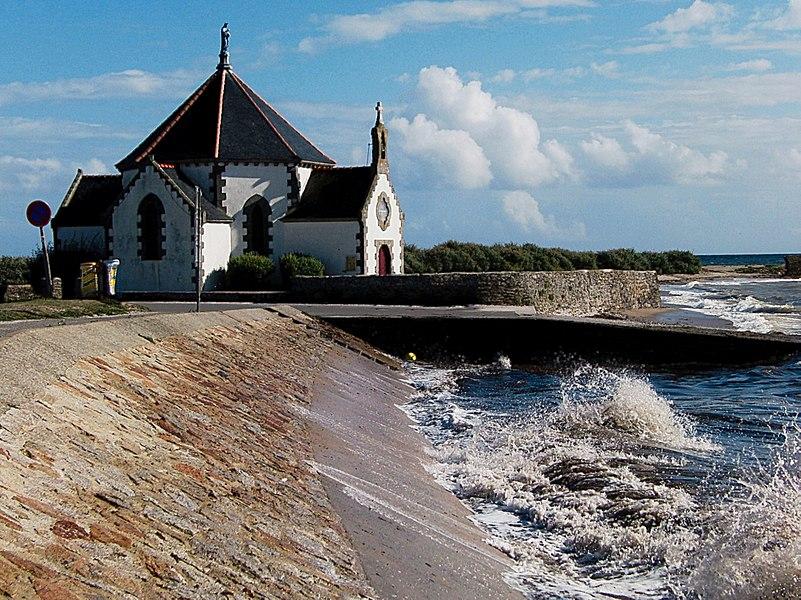Chapelle Notre-Dame-de-la-Côte (Penvins)Parc naturel régional du Golfe du Morbihan à  Golfe du Morbihan