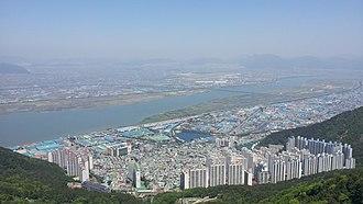Sasang District - Image: Sasang gu eomgung view
