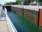 Sault Canal lock closing 1.JPG
