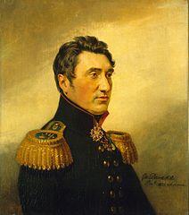 Portrait of Fyodor V. Sazonov (1780- after 1839) (2nd)