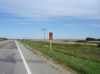 Saskatchewan Highway 10 - Image: Scenic Route Hwy 10Echo Valley