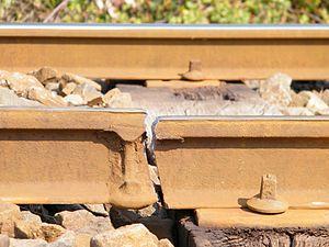 Rail inspection - Broken rail