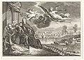 Schilderij met de verheerlijking van Cornelis de Witt, met op de achtergrond de Tocht naar Chatham, 1667, RP-P-1944-212.jpg