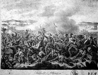 Battle of Oltenița - Battle of Oltenița by Karl Lanzedelli