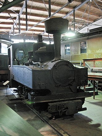 Railway troops - Narrow gauge railway brigade engine from 1918/19