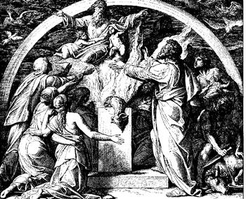 Schnorr von Carolsfeld Bibel in Bildern 1860 019