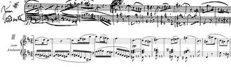 Symphony No. 10 (Schubert) - Image: Schubert Symph 10 2nd mov 1.2