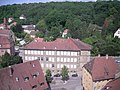 Schwäbisch Hall Jul 2012 22 (view from St. Michael belltower).JPG