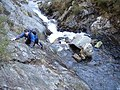 Scrambling in the Geirionydd Gorge - geograph.org.uk - 937158.jpg
