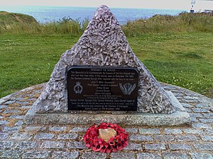 Seaham - George Elmy Lifeboat Memorial