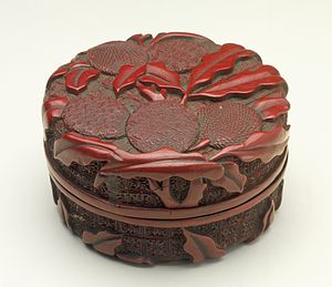 Seal (East Asia) - Yinnihe (seal paste box), Ming dynasty