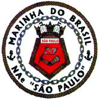 Brazilian aircraft carrier São Paulo - Image: Seal of N Ae São Paulo