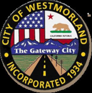 Westmorland, California - Image: Seal of Westmorland, California
