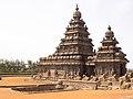 Seashore Temple at Mahabalipuram.jpg
