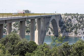 Šibenik - Šibenik Bridge