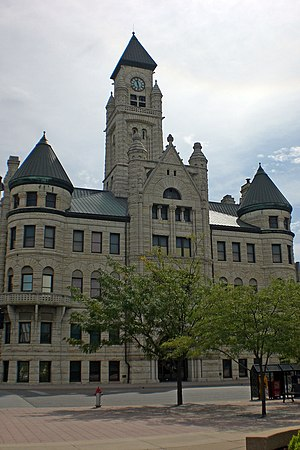 Downtown Wichita - Wichita's Old City Hall, now the Sedgwick County Historical Museum (2008)