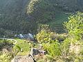 Segonzano - torrente Avisio sotto al castello.jpg