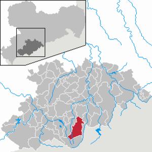 Sehmatal - Image: Sehmatal in ERZ