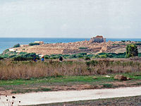 Selinunte, View of the Acropolis from the Eastern Temple Group.jpg