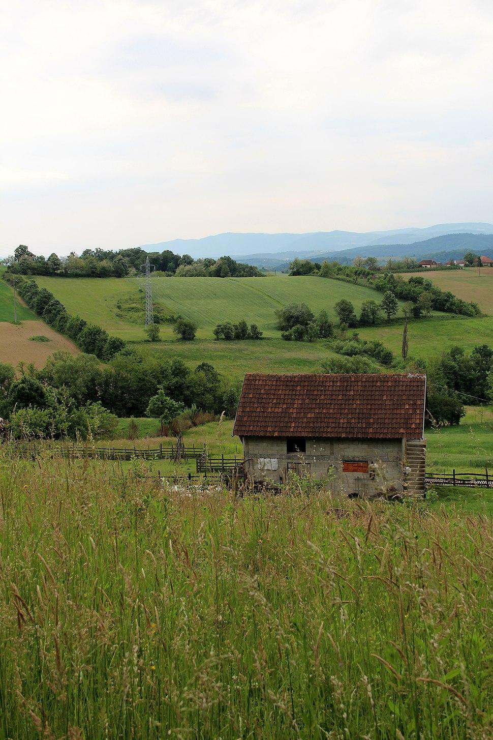 Selo Zlatarić - opština Valjevo - zapadna Srbija - Panorama 11