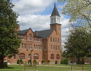 Cherokee Nation - Second Cherokee Female Seminary in Tahlequah (present-day Seminary Hall of Northeastern State University)