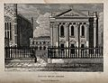 Senate House, Cambridge. Line engraving by W. Read, 1825. Wellcome V0014254.jpg