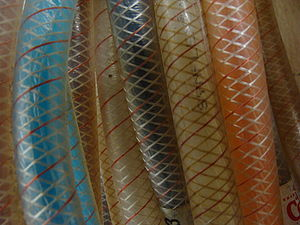 Hose - A reinforced series of tubes, these can withstand up to 10 bars of pressure