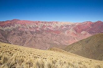 Serranía de Hornocal - Jujuy, Argentina.