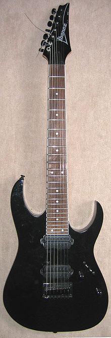 seven string guitar wikipedia. Black Bedroom Furniture Sets. Home Design Ideas