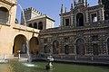 Sevilla-Reales Alcazares-Estanque de Mercurio-20110915.jpg