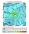 Shakemap Earthquake 4 Jan 2016 India.jpg