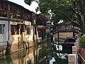 Shanghai Qingpu - Zhujiajiao IMG 8266 Caohe Street and canal Lang Bridge.jpg