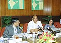 Sharad Pawar speaking at the general council meeting of National Cooperative Development Corporation at ICAR in New Delhi.jpg