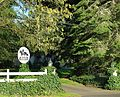 Shaver–Bilyeu House gate - Tigard, Oregon.JPG